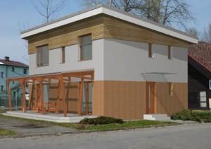 V Českých Budějovicích roste dům budoucnosti