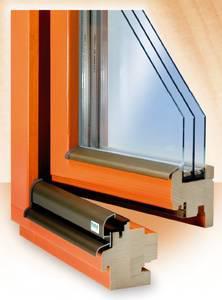 Dřevěná okna - náhled