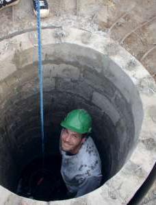 Stavba studny